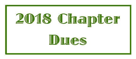 2018 Chapter Dues
