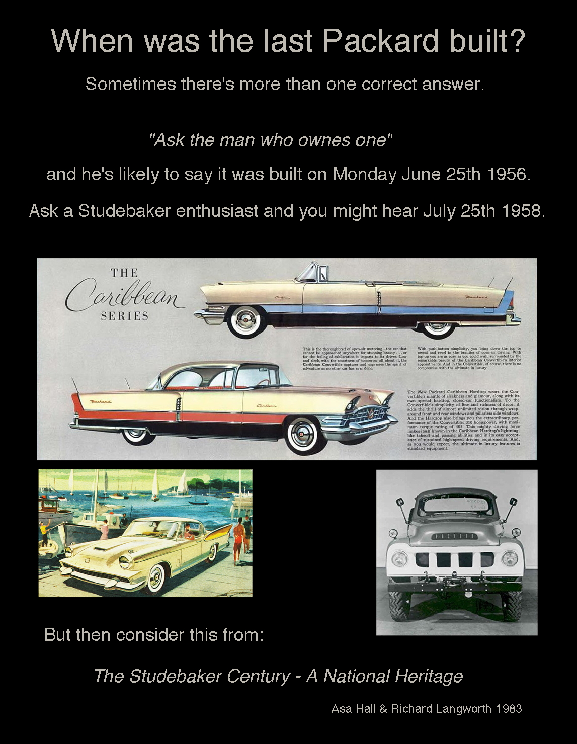 Last Packard standing
