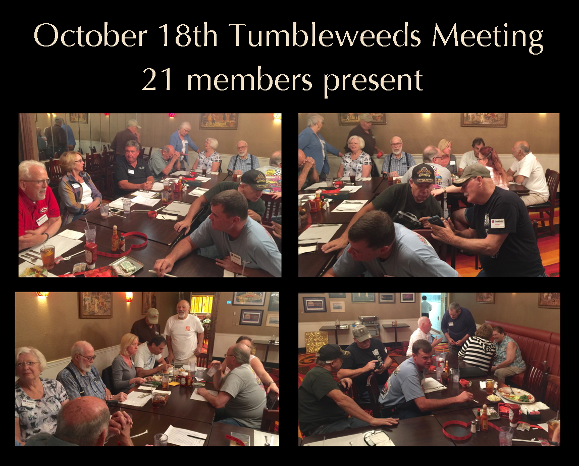 October 18th 2017 meeting