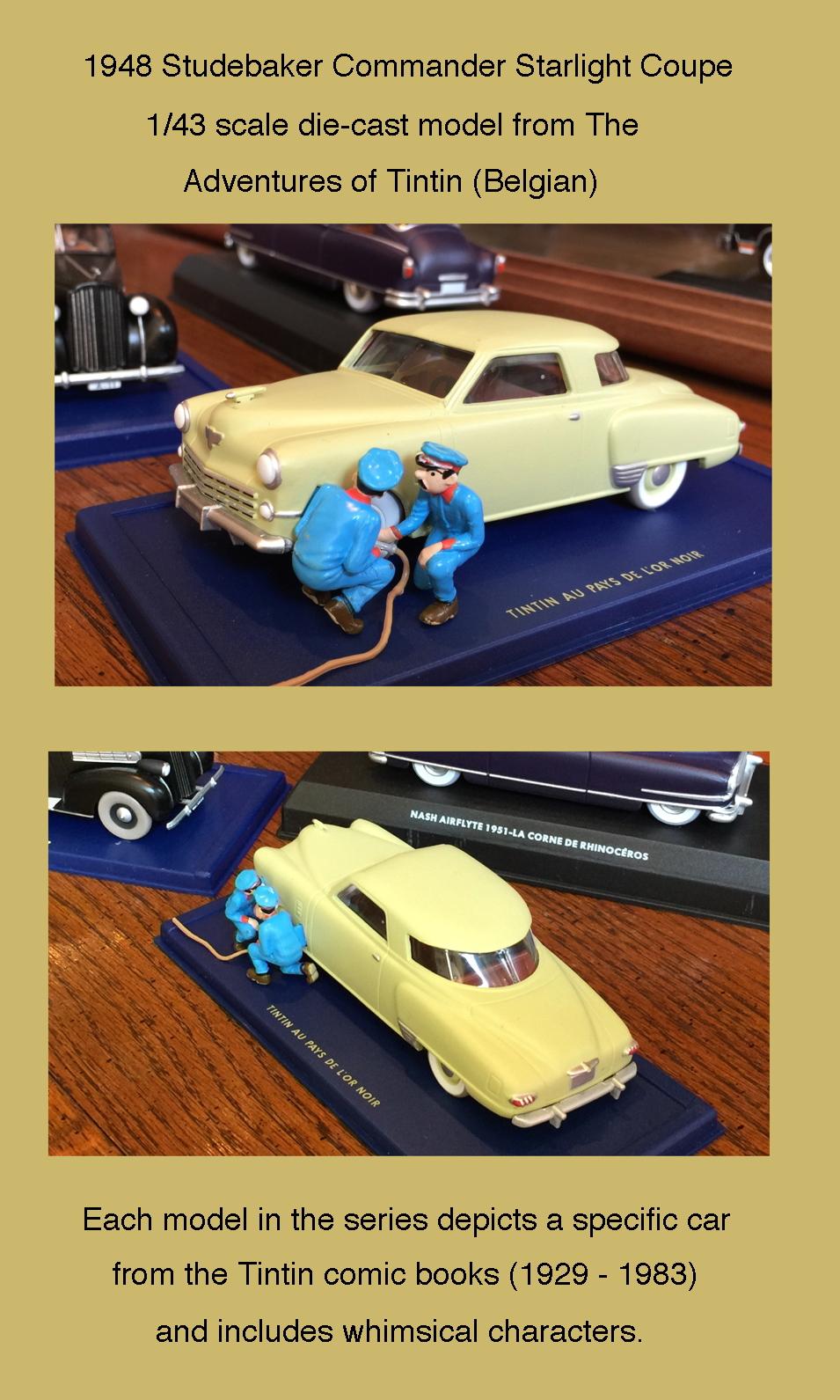 Tintin Studebaker
