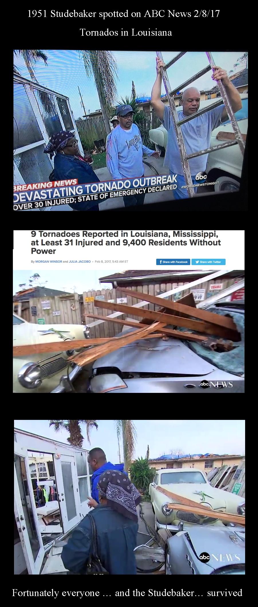 stude in tornado